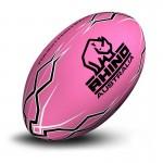 Lightning Bolt Touch Football Pink