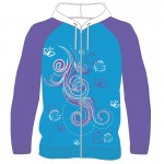 Zip Hoodie Sublimated Front
