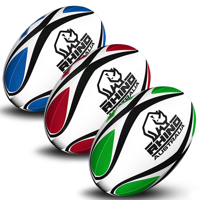 Rhino Australia custom rugby balls