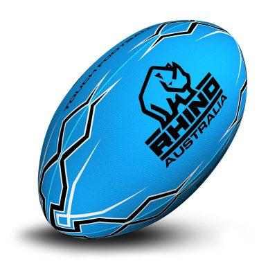 Lightning Bolt Touch Football Blue