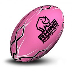 Lightning Bolt Touch Football Pink