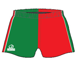 Rhino Australia custom teamwear shorts