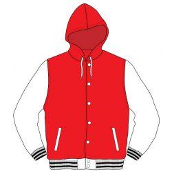 Rhino Varsity Jacket Front