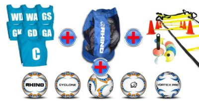 football training ball and equipment bundle package