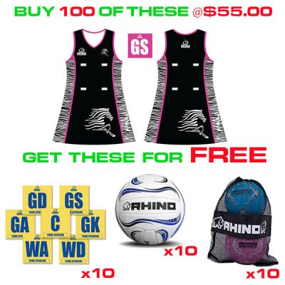 Rhino Netball Rewards Package Deals
