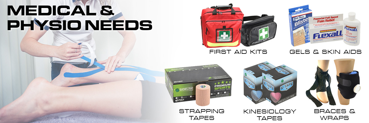 Medical and Physio gear for your sports club. Rhino Australia