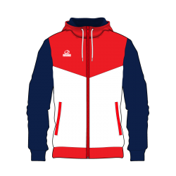 Rhino hoodie zip cut and sew CS