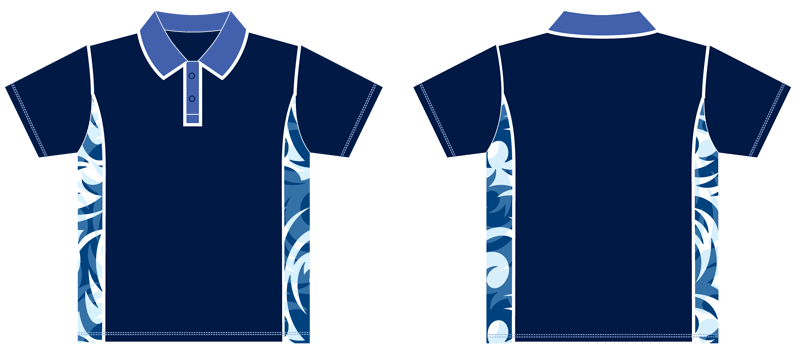 Polo shirt custom made sublimated rhino australia for Design t shirts online australia