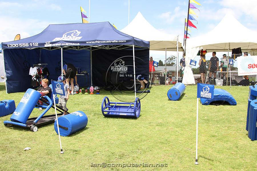 Rhino central coast 7's rugby epuipment