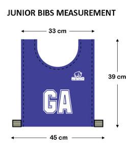 Bibs Sizes Jnr