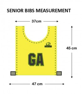 Bibs Sizes Snr