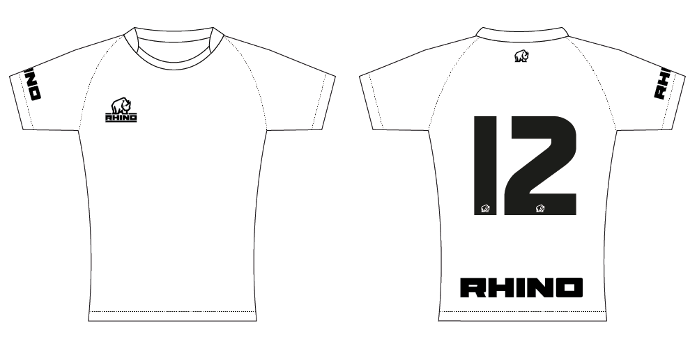 Rhino Rugby Jersey Semi-Fit