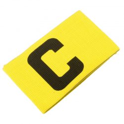 Captains arm band for football