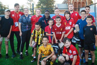 Rhino - Adelaide United Junior Football Skills Course 2017-18